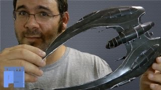 Cylon Raider Papercraft - Battlestar Galactica