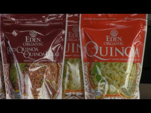 GOODNESS ME! REVIEW: Eden Foods Quinoa