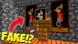 FAKE PAINTING CAMO TROLLING! (Minecraft Murder Mystery Trolling)