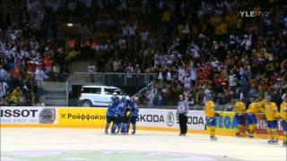 IIHF MM 2011 Suomi - Ruotsi  finaalin maalit