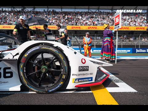 2020 #MexicoCityEPrix Best Moments - ABB FIA Formula E - Michelin Motorsport