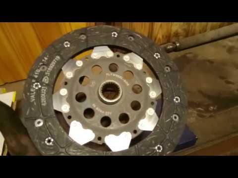 Замена сцепления Volvo S60 B5244S МКПП М56