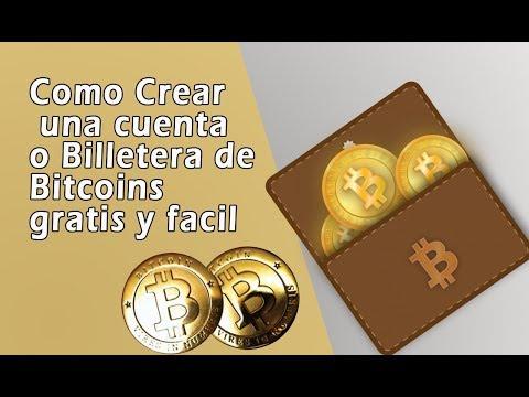 Como Crear Una Cuenta De Bitcoin 2017 O Billetera Bitcoin  Muy Facil
