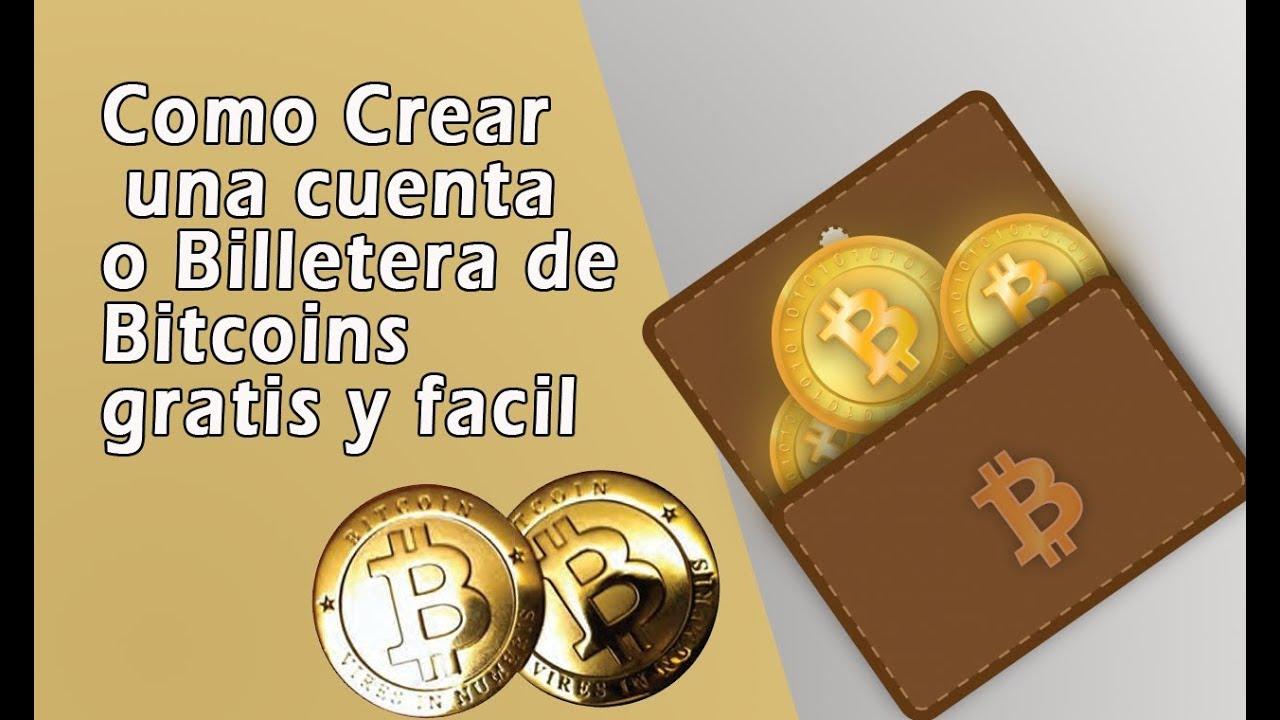 como crear bitcoin address