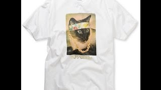 ODD FUTURE LESTER WHITE TEE SHIRT