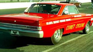 1965 Comet Cyclone at Cecil Dragway.