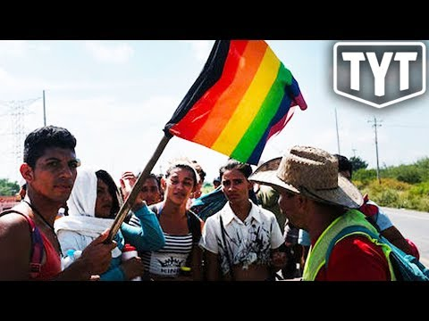Small Group Of LGBTQ Migrants Reach Border