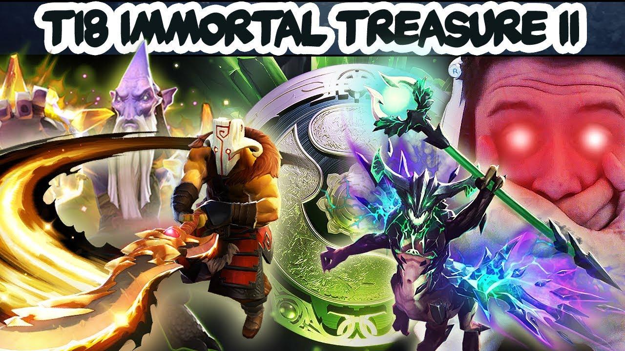 Dota 2 Immortal Treasure Ii: FULL PREVIEW + TREASURE OPENING! THE