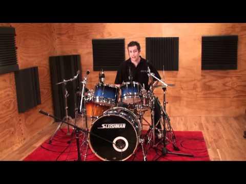 Sleishman Omega Series Drums - YouTube