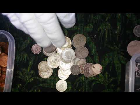 Some of my old scrap silver coins part 1