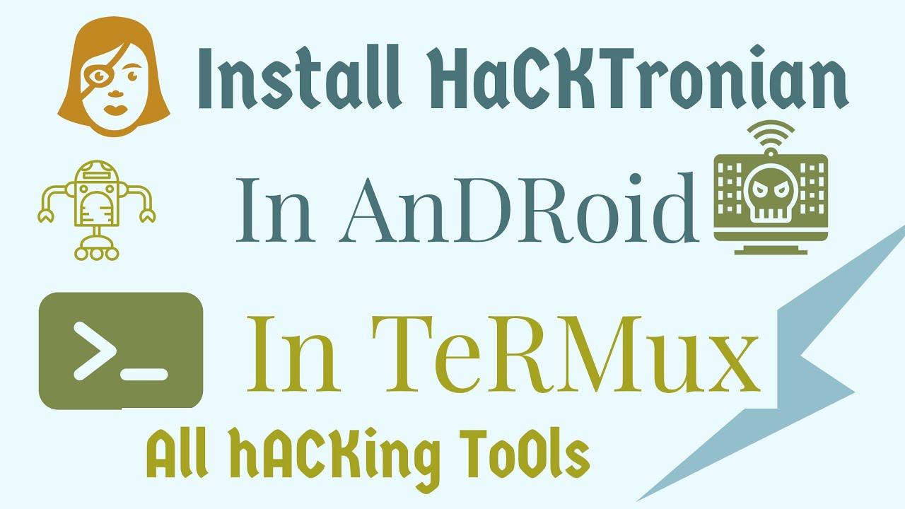 Best Tool Of Termux (HACKTORNIAN) Complete Pack