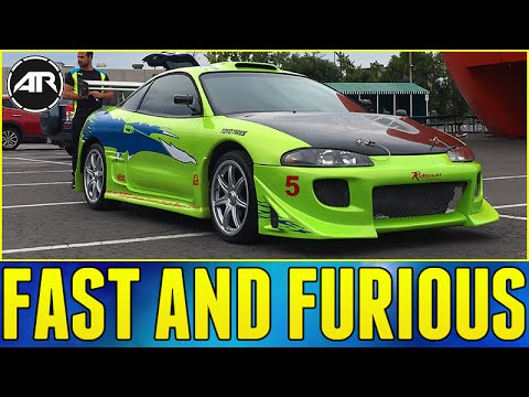 Fast And Furious Mitsubishi Eclipse Review - YouTube