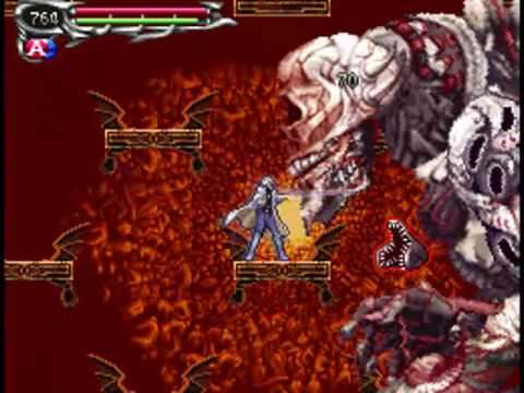 Castlevania Dawn Of Sorrow Final Boss Menace Youtube