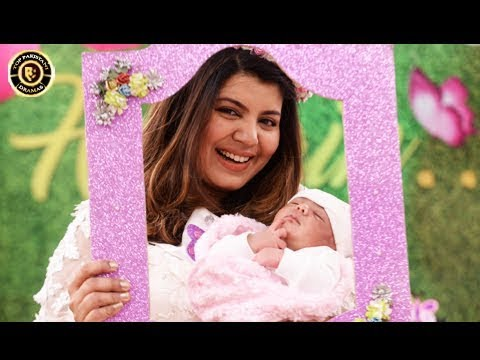 Abeel's New Born Daughter's Celebration In Good Morning Pakistan
