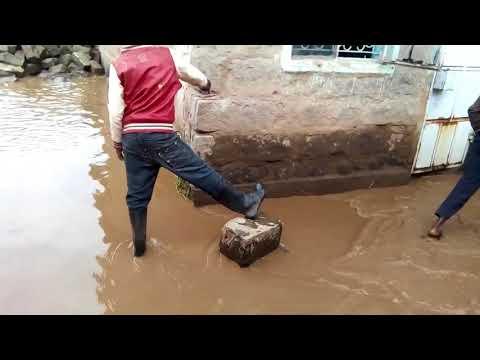 Flash floods in Naivasha on 22 April 2018