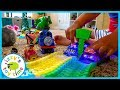 MAGIC TRACKS IN EVERY ROOM!! Cars for Kids!