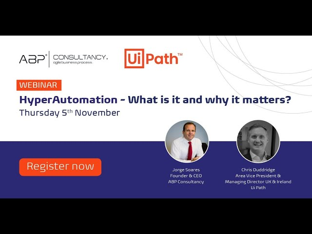 Hyperautomation - What is it and why its important now?