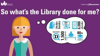So what's the Library done for me? (Resources)