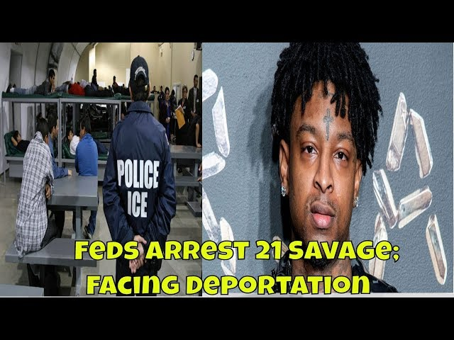 21 Savage Arrested By ICE; Facing Deportation #21Savage #ICE #arrest