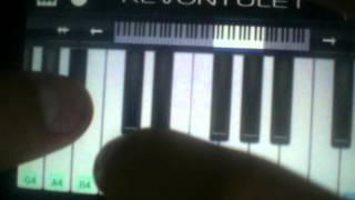 The piano chord kiroro mirae-piano chord Part 1 A5 C5 A5 A5# A5 C5 ...
