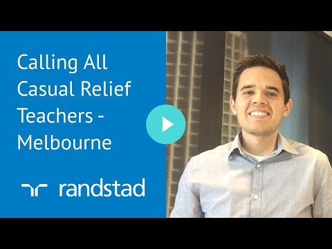 Calling All Casual Relief Teachers - Melbourne