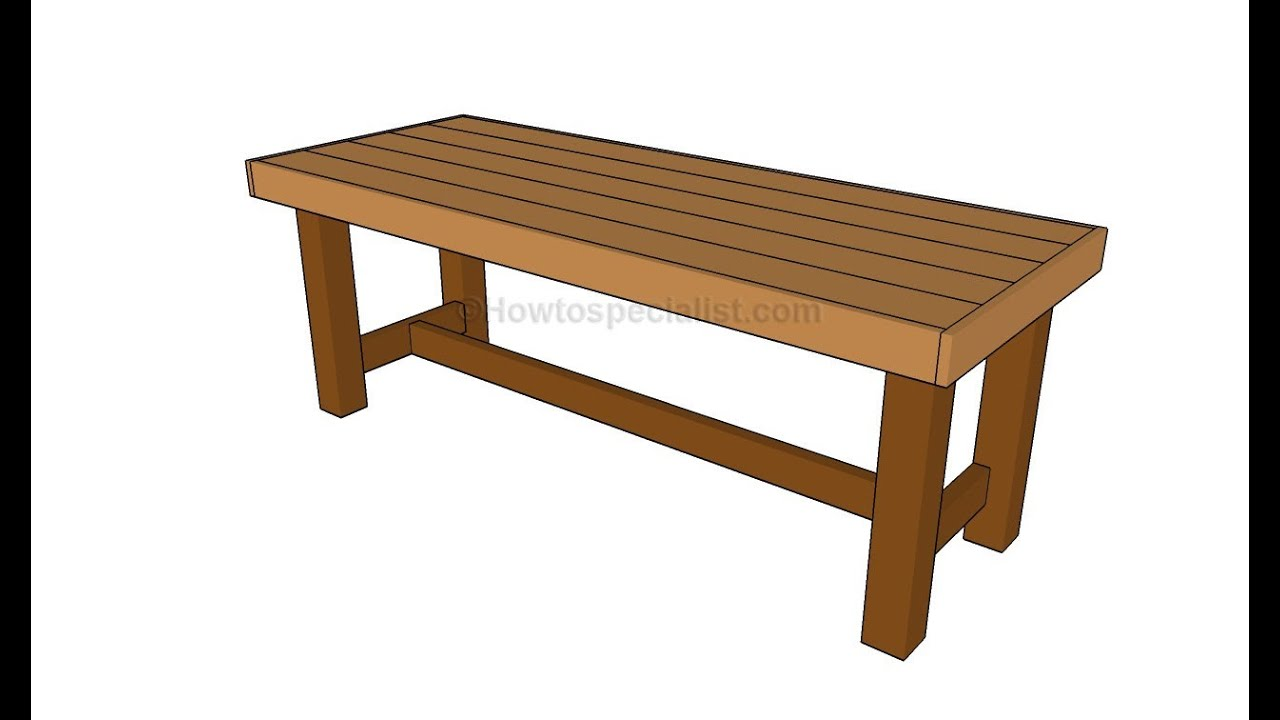 How to build a patio table - YouTube