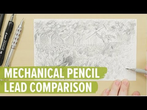 Mechanical Pencil Lead Comparison
