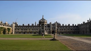 Cambridge University Campus Tour