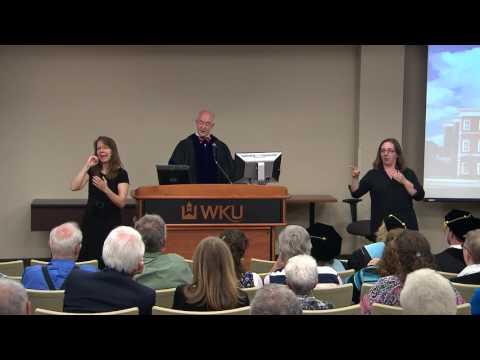 WKU Educational Leadership Doctoral Program hooding ceremony