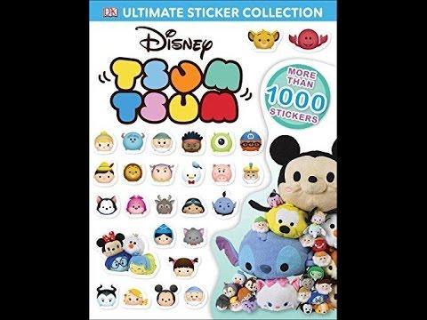 Inside the DK Tsum Tsum sticker book!