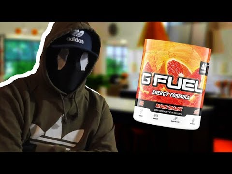 HOW TO MAKE GOURMET G-FUEL IN 1 MINUTE!   ECLIPPZ COOKING SHOW