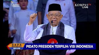Download Video Bakar Semangat Pendukung, Maruf Amin Ajak Nyanyikan Padamu Negeri MP3 3GP MP4
