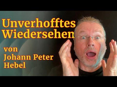 »Unverhofftes Wiedersehen« von Johann Peter Hebel – gelesen von Wolfgang Tischer