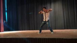 Manish solo dance 1st @ LHMC