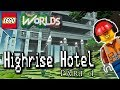 Designing And Building In Lego Worlds High Rise Hotel Part 4 mp3