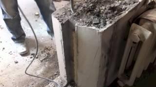Алмазная резка бетона без пыли в Киеве.(, 2012-08-03T07:08:04.000Z)