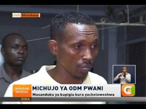 Mohammed Ali [ Jicho Pevu] asimulia masaibu kwenye mchujo wa ODM Nyali