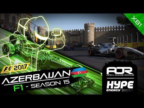F1 2017 | AOR Hype Energy F1 League | XB1 | S15 | R3: Azerbaijan GP