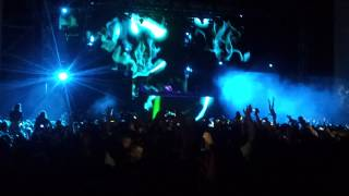 Only Open Air Festival - Afrojack Bratislava 2014 (I could be the one - Avicii)