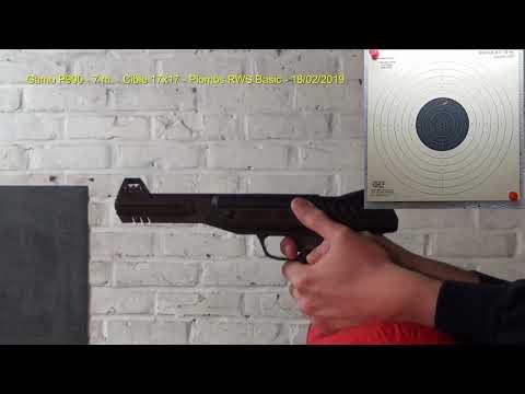 Test de tir GAMO P900 Cal .177