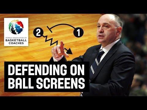 Defending on Ball Screens - Pablo Laso - Basketball Fundamentals