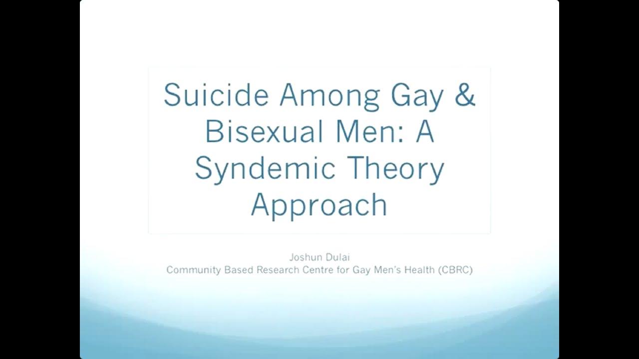 suicide among gay men