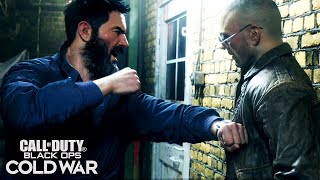 Call of Duty: Black Ops Cold War - Woods Punches Hudson For Lying To Him