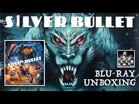 Download SILVER BULLET BLU-RAY UNBOXING! | SCREAM FACTORY!