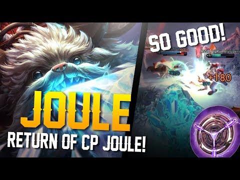 Vainglory Gameplay - Episode 335: ECHO JOULE OP!! Joule [CP] Lane Gameplay [Update 2.11]
