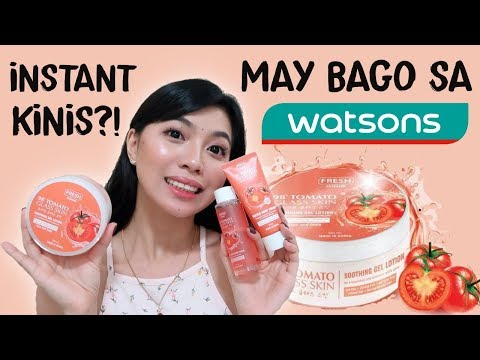 PAMPAKINIS? TOMATO GLASS SKIN CARE NG FRESH MAGANDA BA?