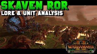 Early Access NEW Skaven Regiments of Renown: Lore Breakdown & Unit Analysis | Total War: Warhammer 2