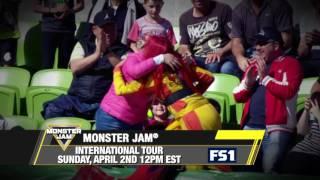 Monster Jam International Tour on FS1   Sunday, April 2nd