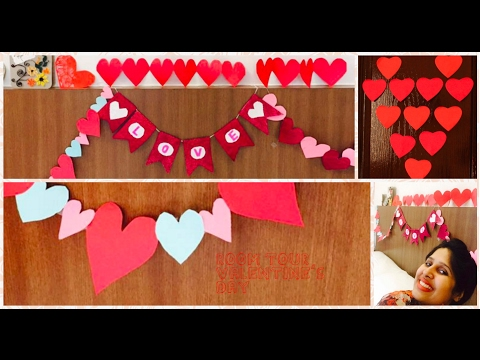 Valentine's Day Room Decor | Decoration Ideas | 16 DIY Dorm Inspiration | Affordable & Easy