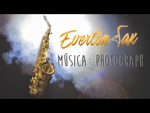 Photograph  Ed Sheeran Everton Sax Instrumental
